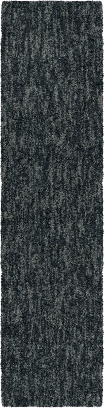 Solid Indigo Machine Woven Area Rug