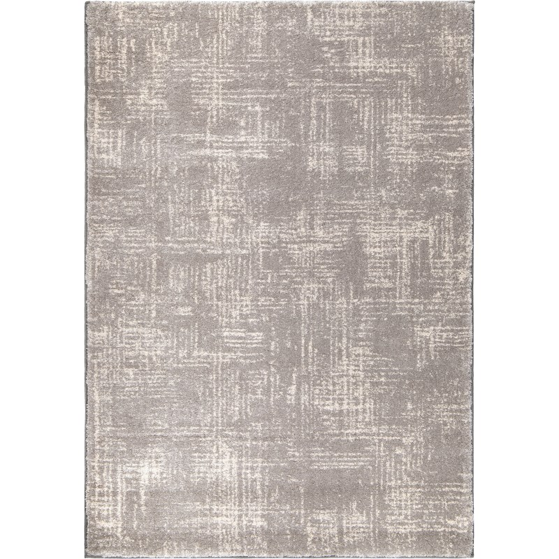 Zion Light Gray Machine Woven Area Rug