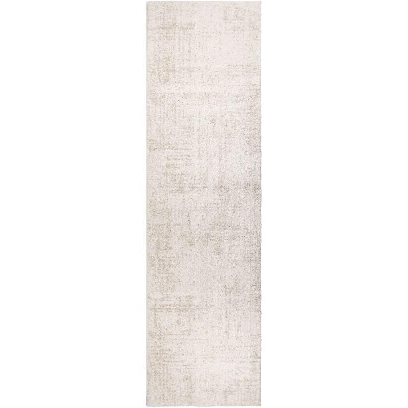 Zion Soft White Machine Woven Area Rug