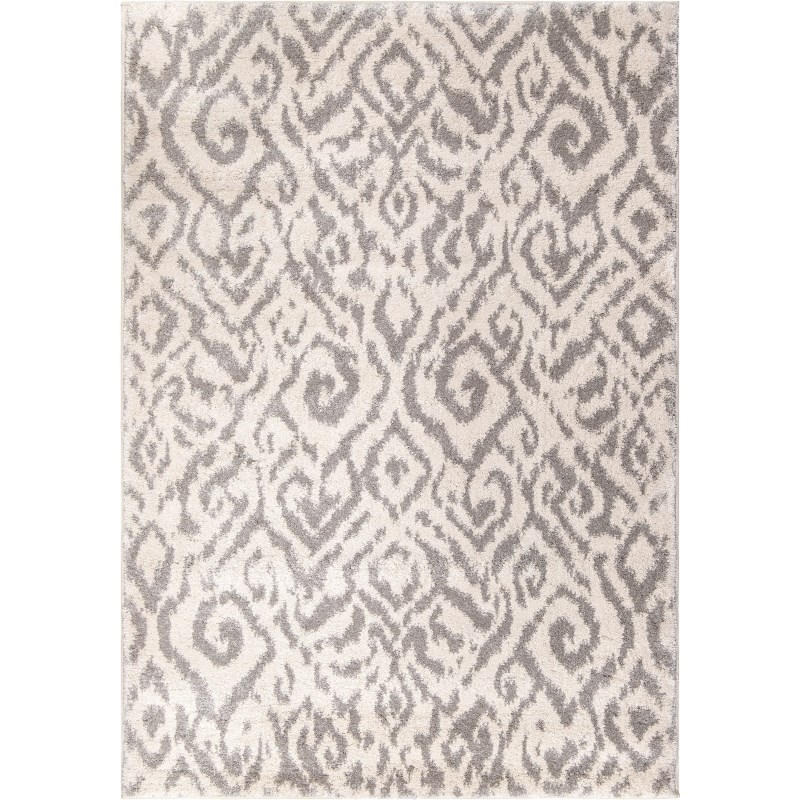 Nakai Cream Machine Woven Area Rug