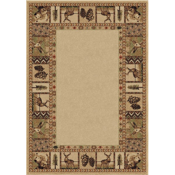 Orian High Country Bisque Area Rugs