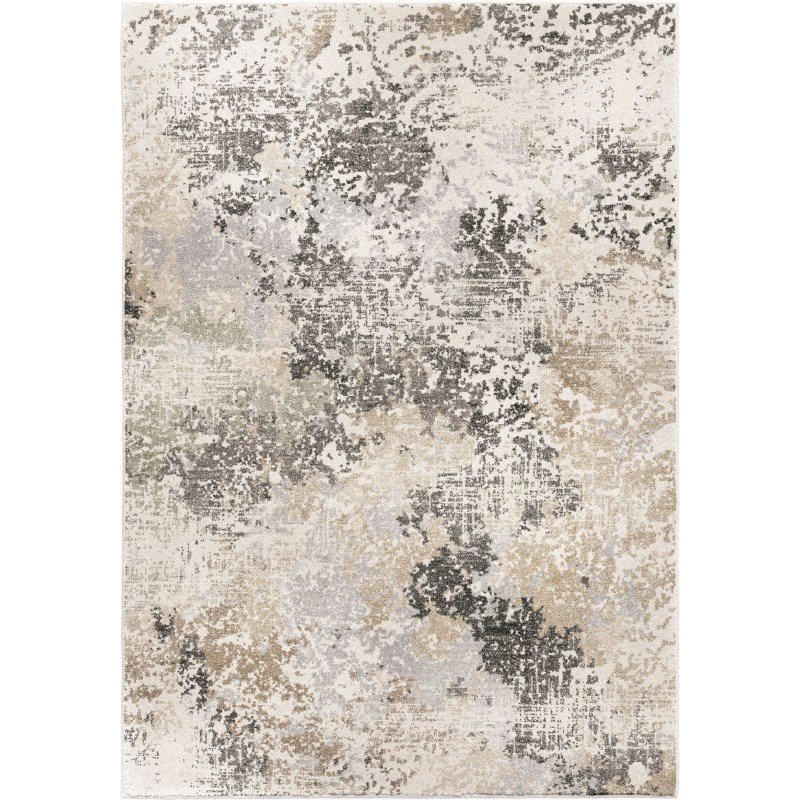 Digital Stream Multi Machine Woven Area Rug
