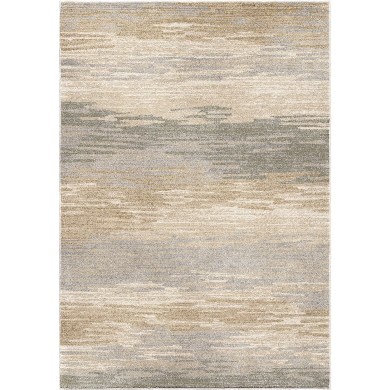Distant Meadow Bay Beige Machine Woven Area Rug