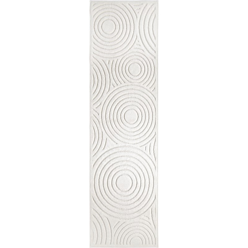 Soundwaves Natural Machine Woven Area Rug