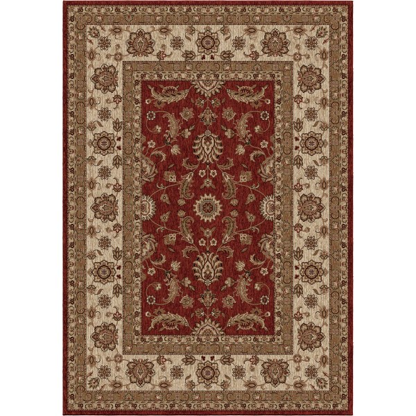 Orian Manderville Red Area Rugs