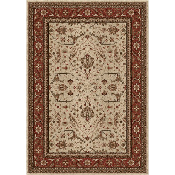 Orian Ansley Cream Area Rugs