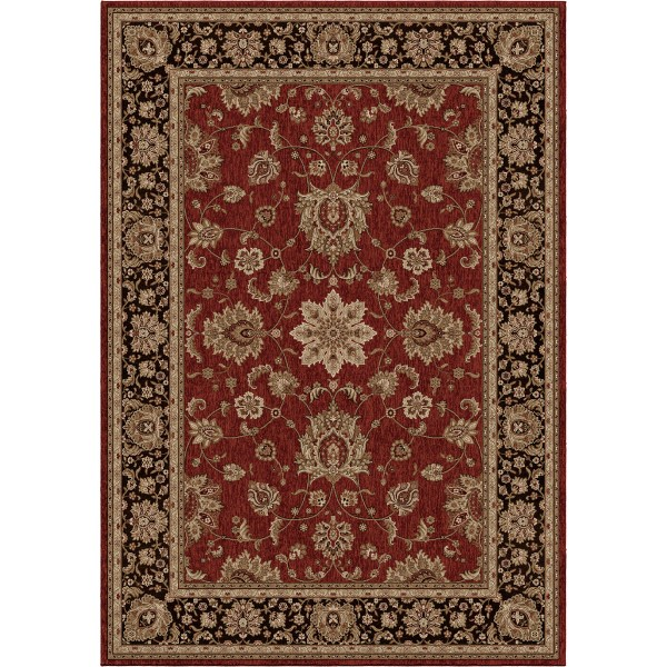 Orian Borokan Red Area Rugs