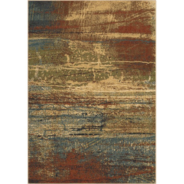 Orian Cabana Sunset Dark Multi Area Rugs