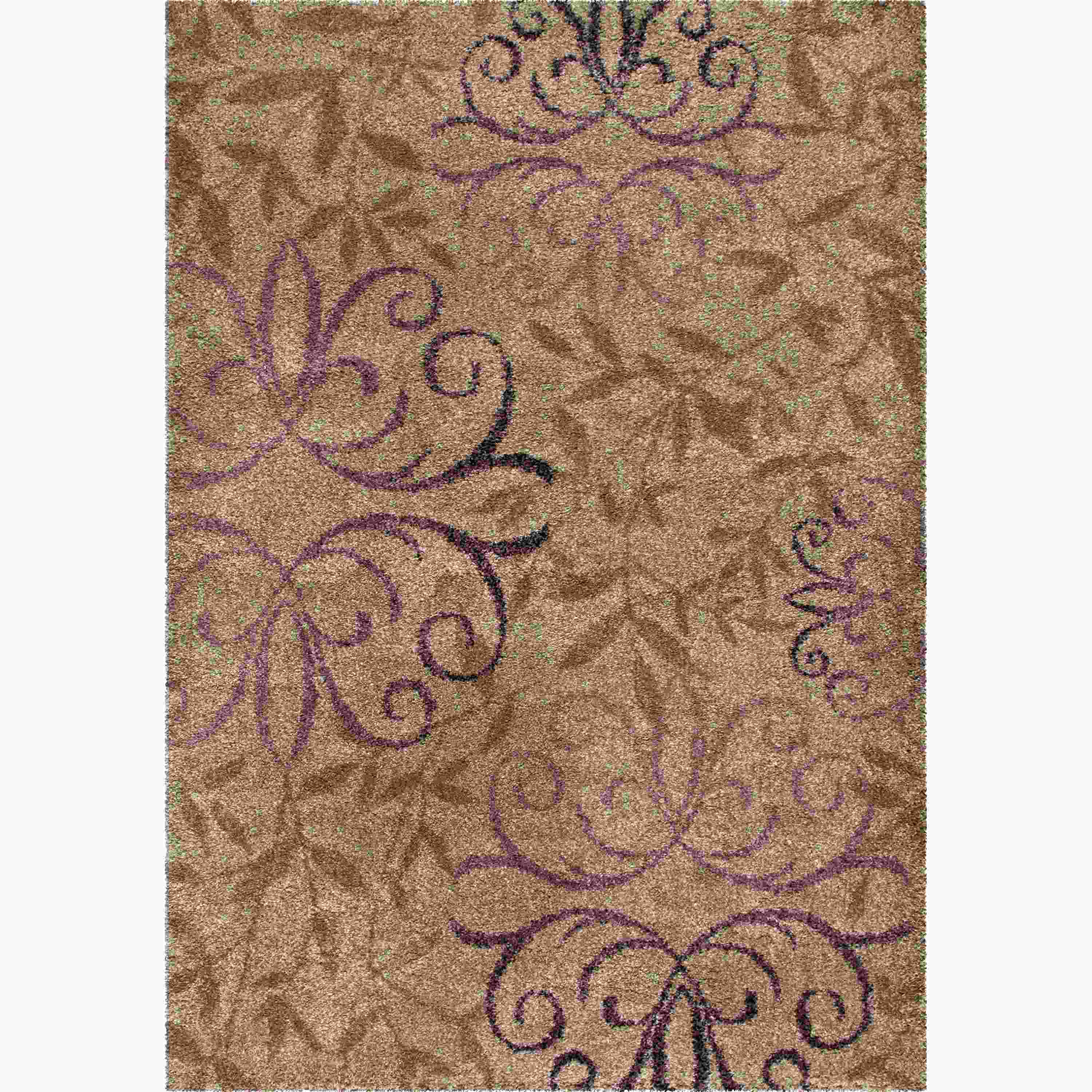 Orian Rugs Plush Scroll Dorian Beachhouse Area Rug
