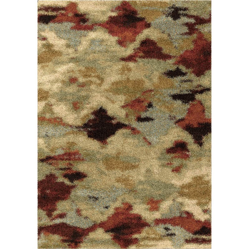 Orian Rugs Plush Abstract Harlequin Multi Area Rug 5'3 X 7'6
