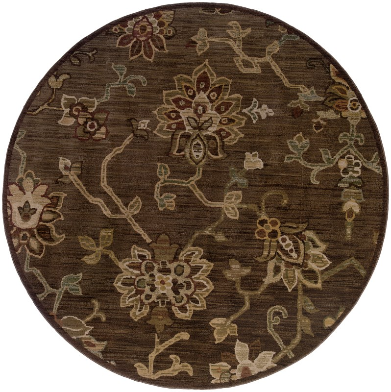 Oriental Weavers Allure Round Area Rug