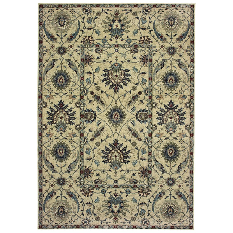 Oriental Weavers Raleigh Indoor Area Rug 1'10x3'