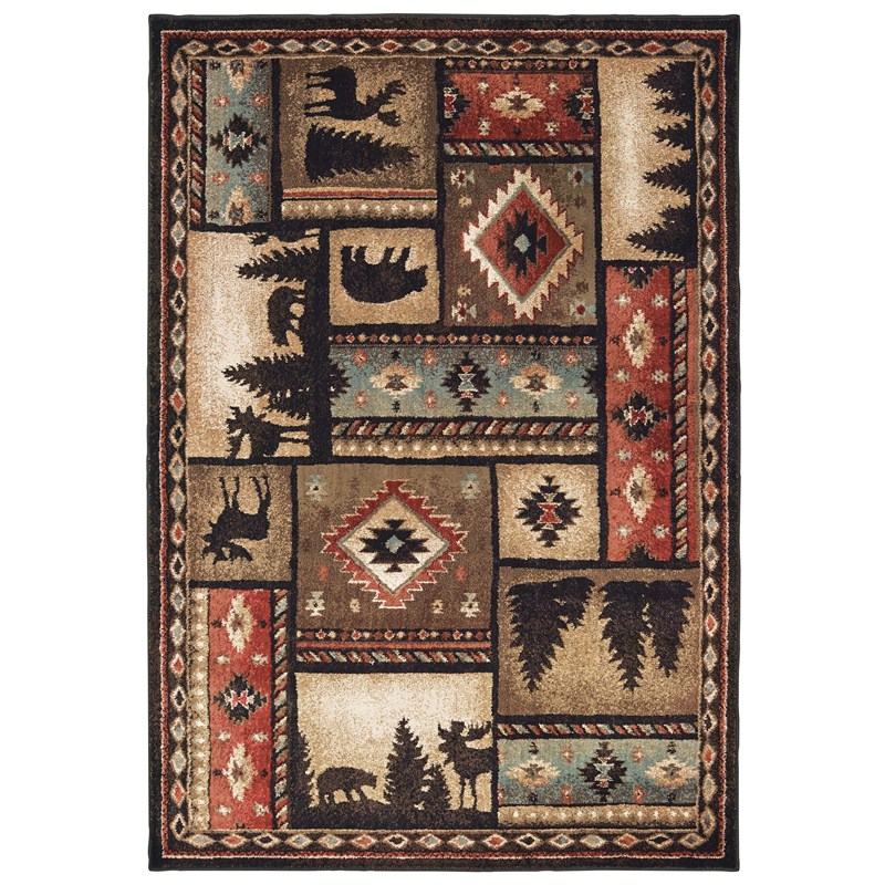 Oriental Weavers Woodlands Indoor Area Rug 1'10x 3'