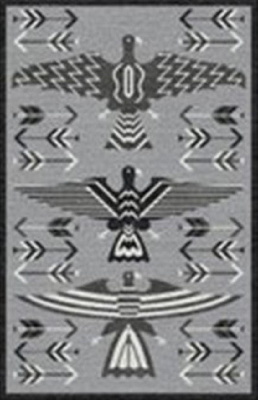 Rizzy Home  Mesa Mz164b Gray Rug