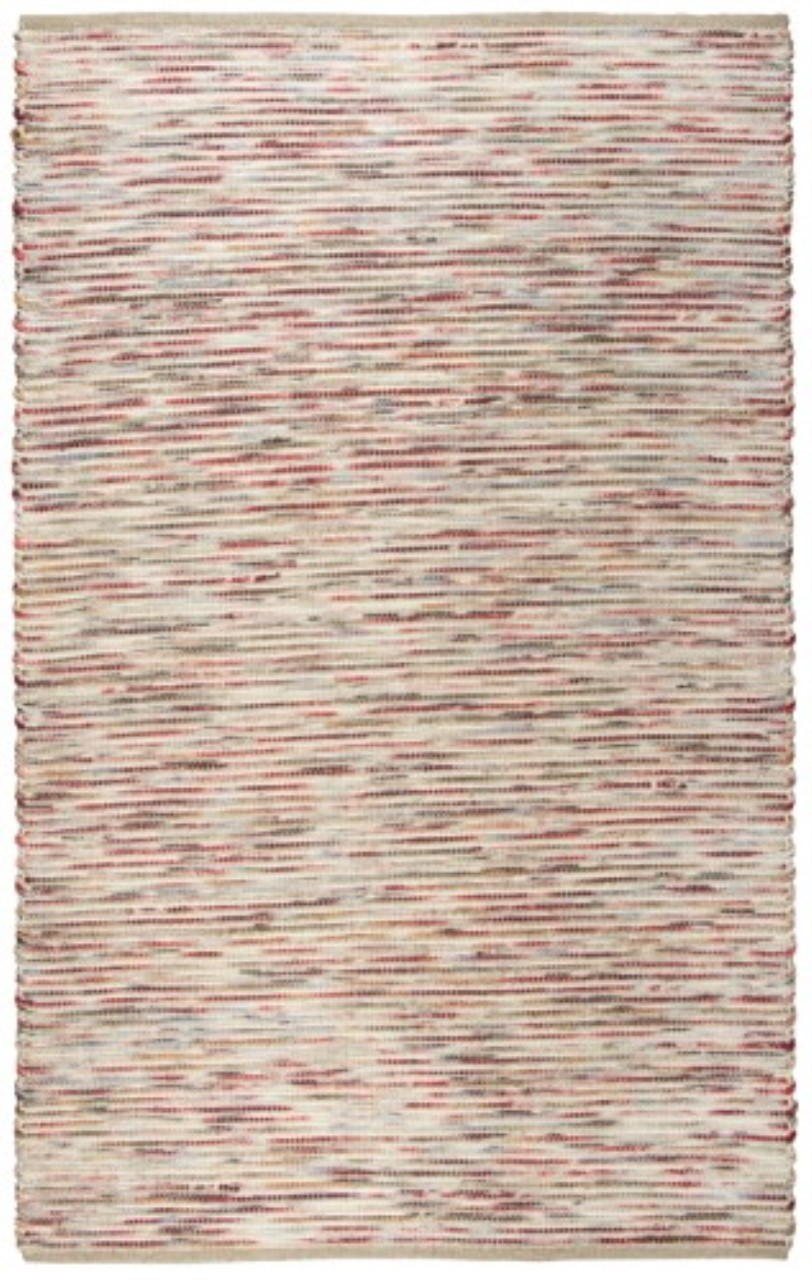 Rizzy Home  Cavender Cav103 Red Rug
