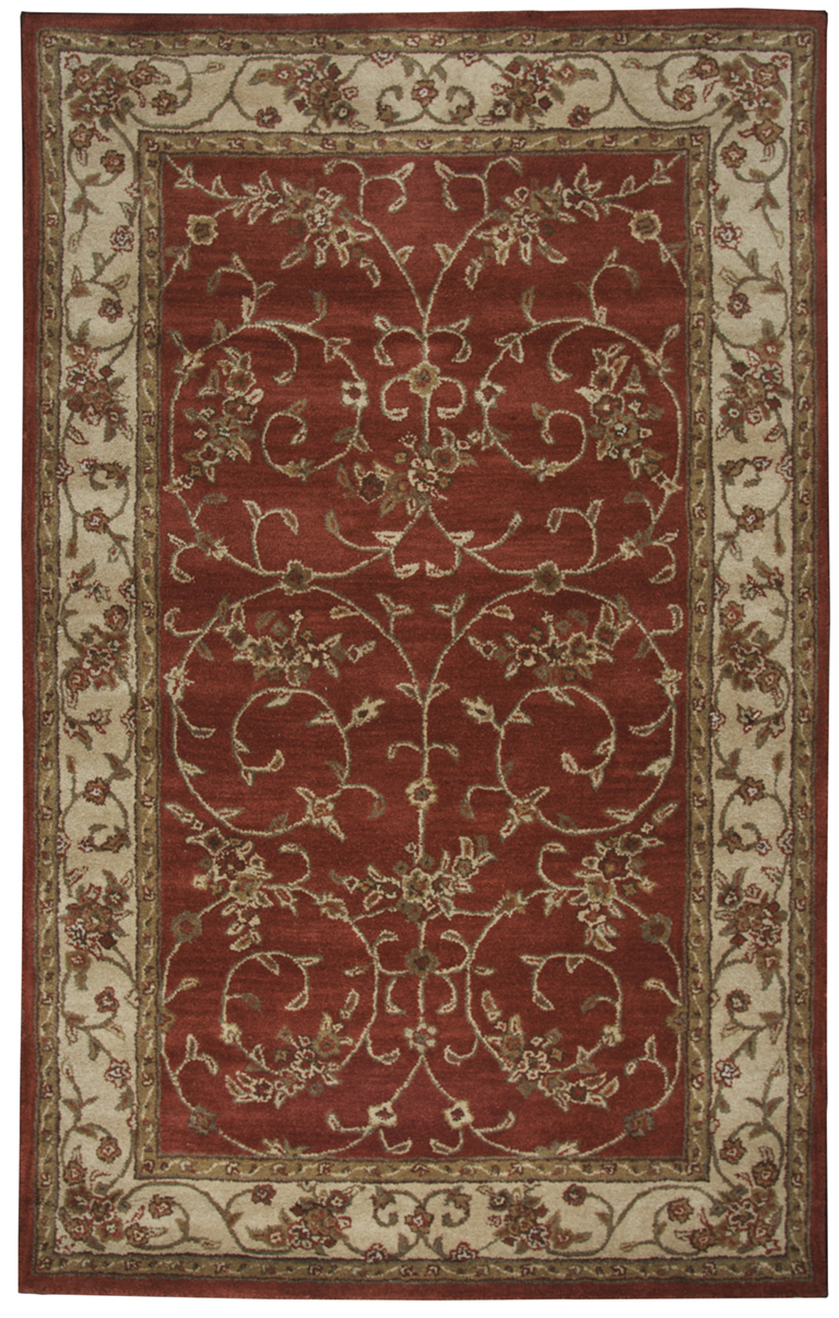 Rizzy Craft Cf0816 Rust Rug