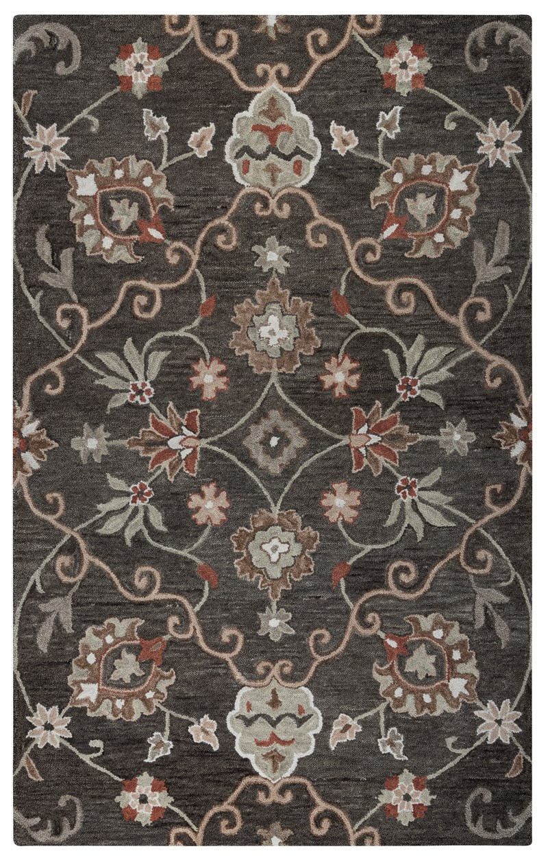 Rizzy Leone Lo9988 Brown Rug