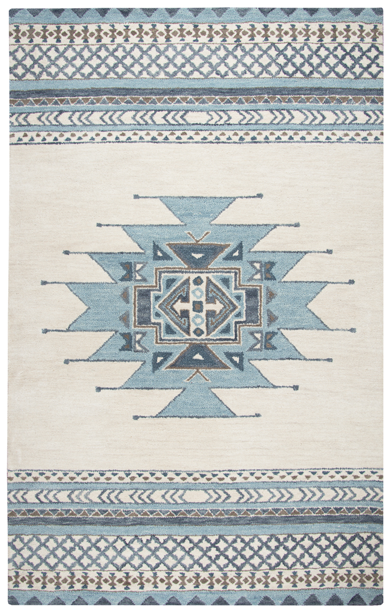 Rizzy Home Southwest Blue Area Rugs