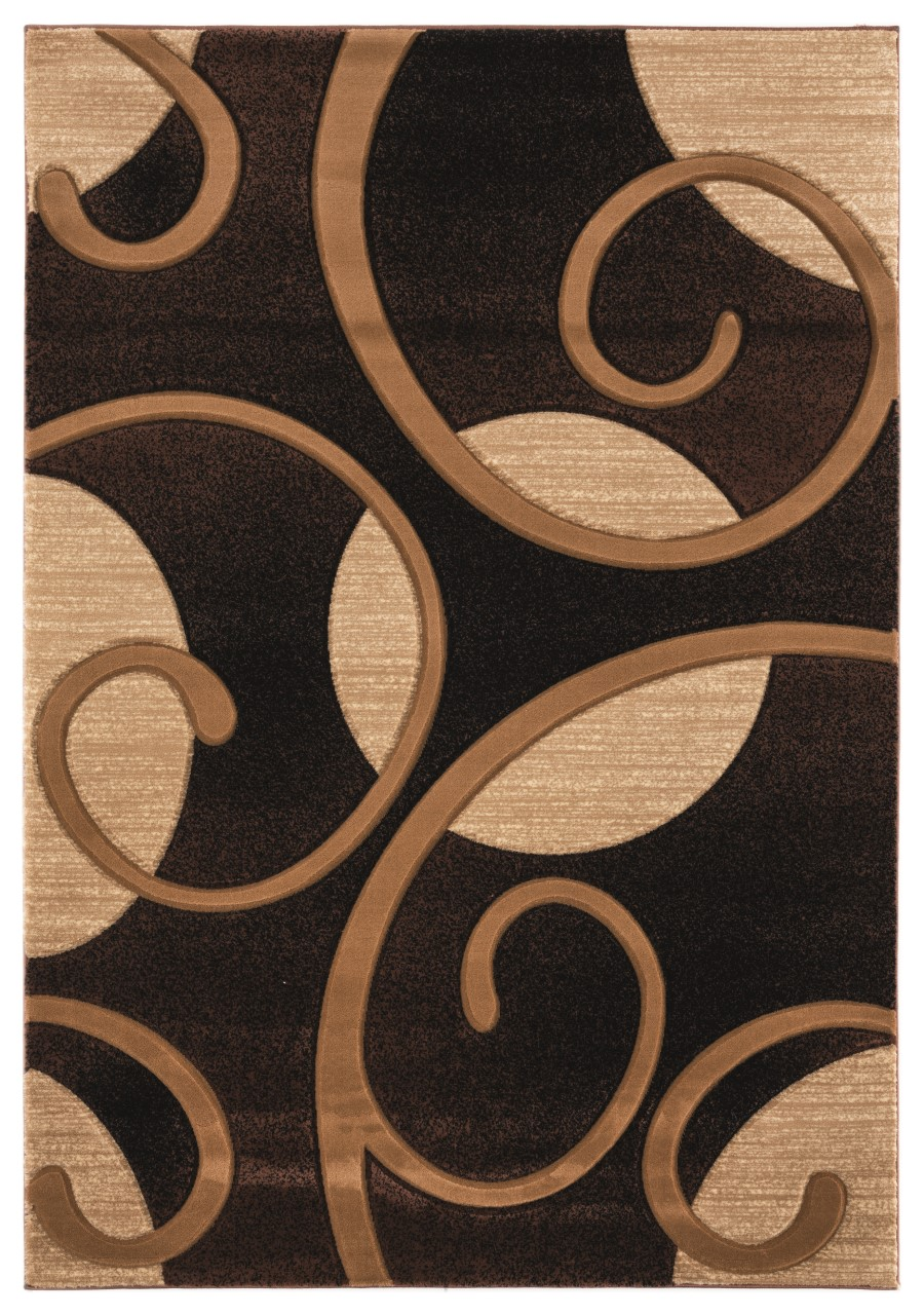 United Weavers Bristol Riley Brown Accent Rug