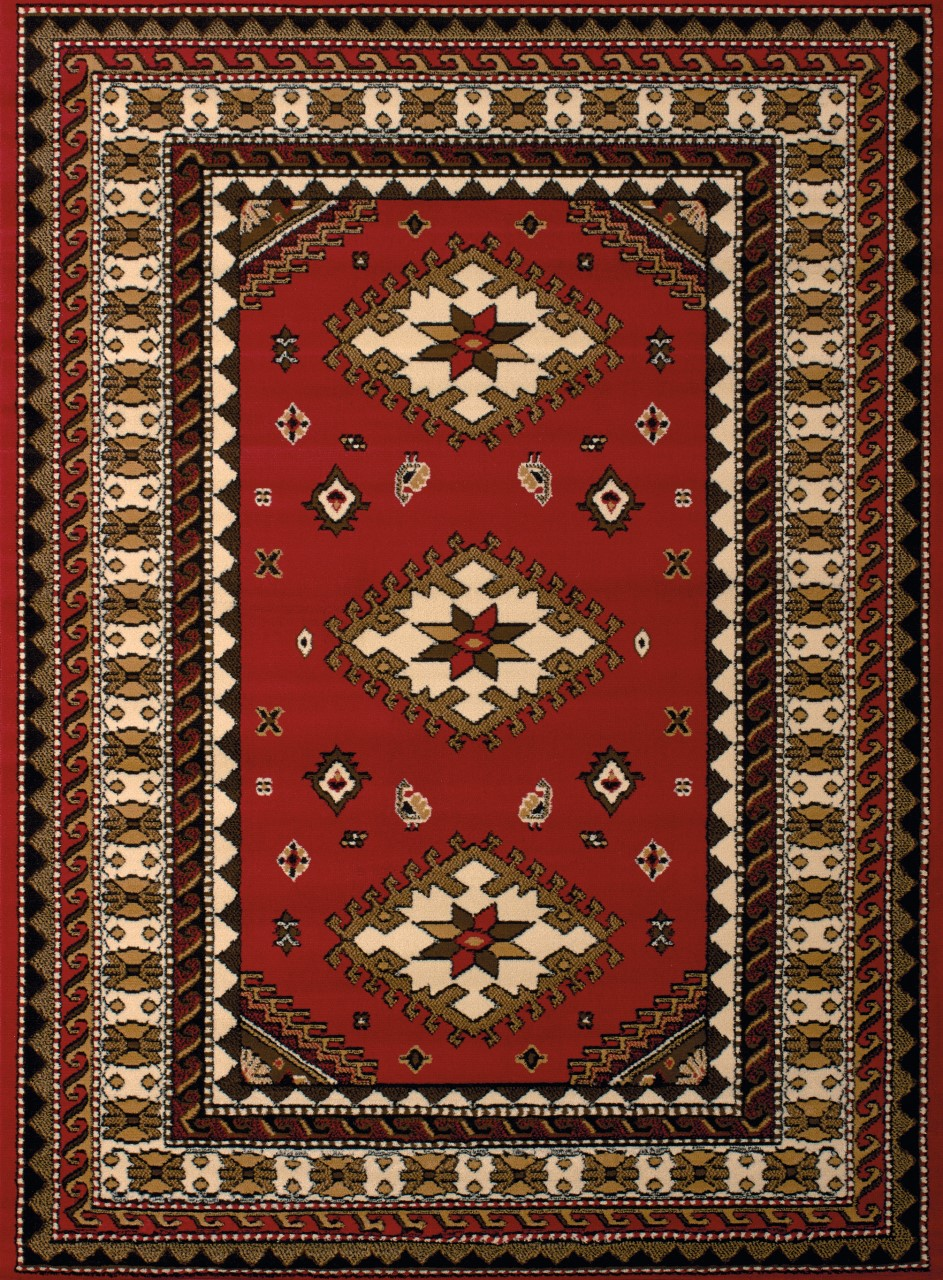 United Weavers Dallas Tres Red Accent Rug