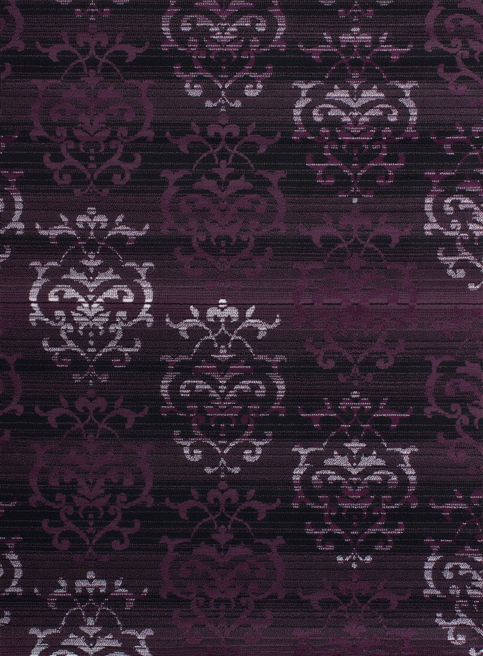United Weavers Dallas Countess Plum Accent Rug