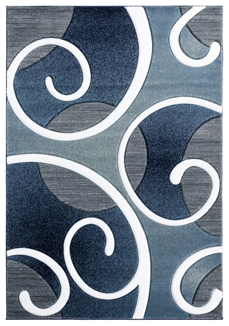 United Weavers Bristol Riley Navy Accent Rug