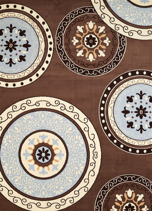 United Weavers Cafe Cozy Brown Area Rug