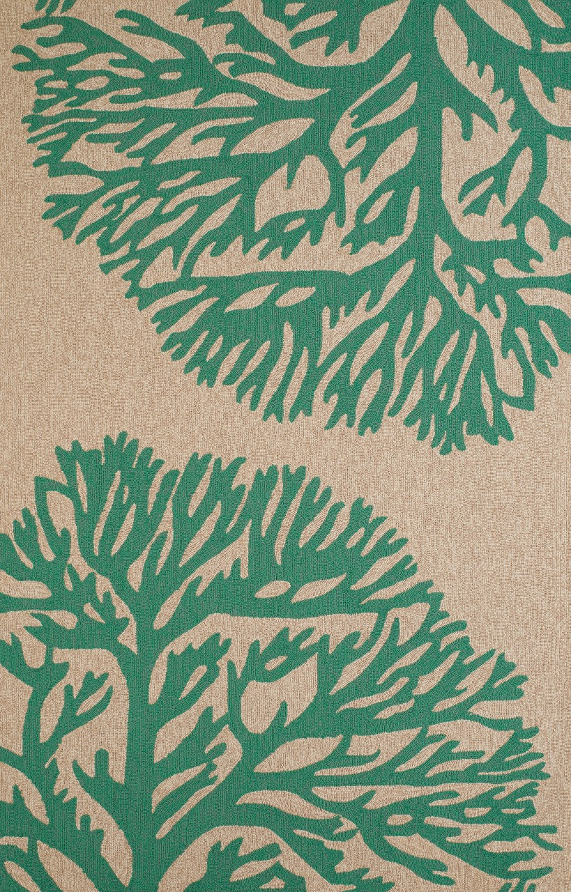 United Weavers Panama Jack Signature Coral Gables Seagreen Accent Rug