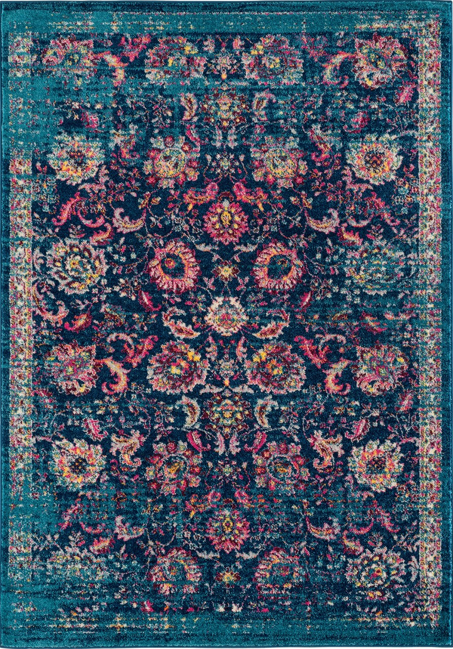 United Weavers Abigail Taj Blue Rug