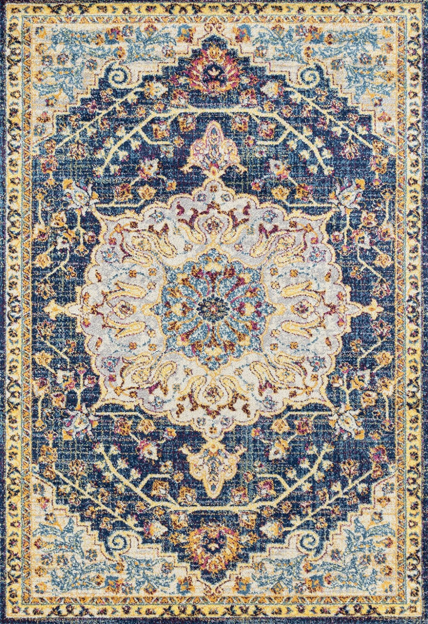 United Weavers Abigail Aviana Blue Rug