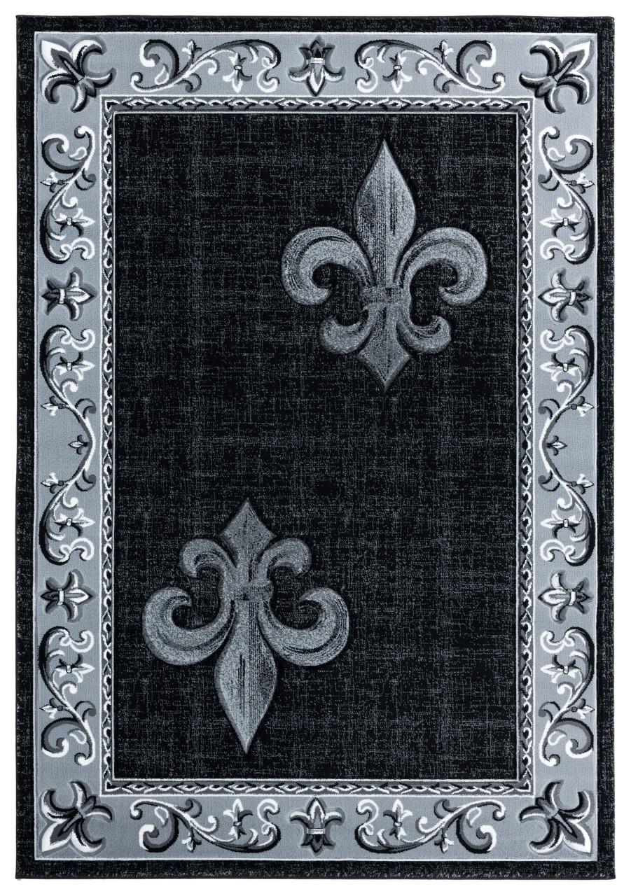 United Weavers Bristol Lilium Grey Accent Rug