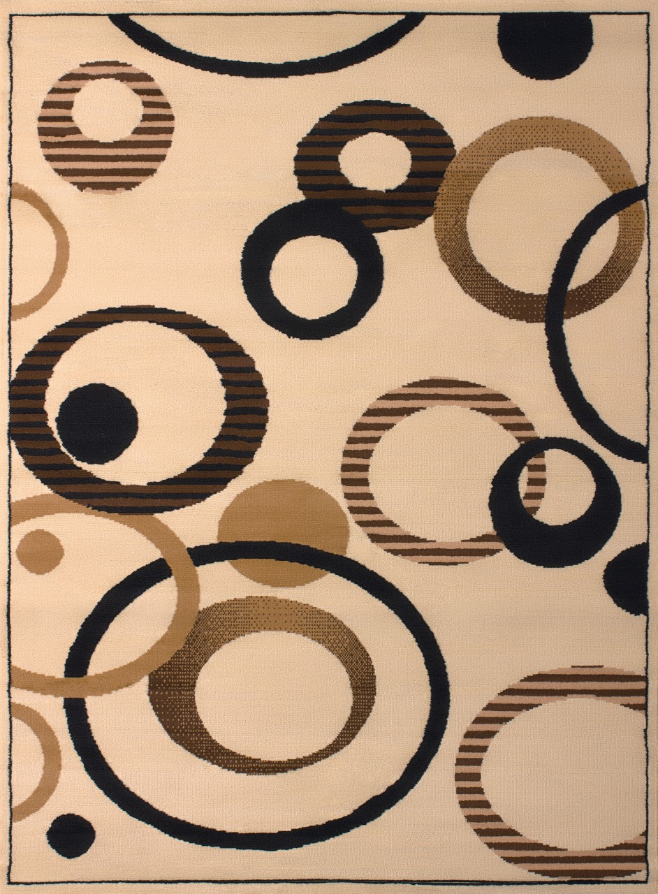 United Weavers Dallas Hip Hop Ivory Accent Rug